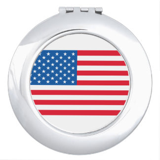 USA Flag stars and stripes Mirrors For Makeup