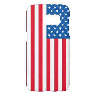 USA Flag stars and stripes Samsung Galaxy S7 Case