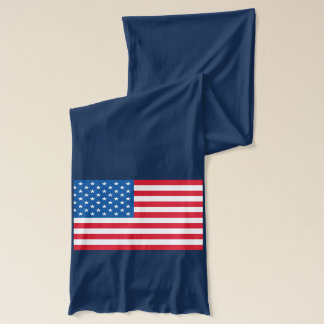 USA Flag stars and stripes Scarf