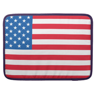 USA Flag stars and stripes Sleeve For MacBook Pro