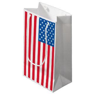 USA Flag stars and stripes Small Gift Bag