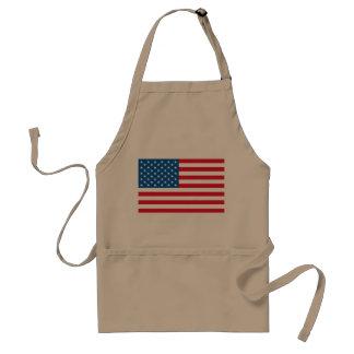 USA Flag stars and stripes Standard Apron
