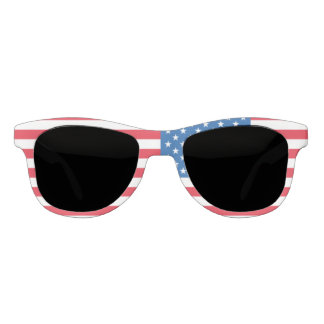 USA Flag stars and stripes Sunglasses