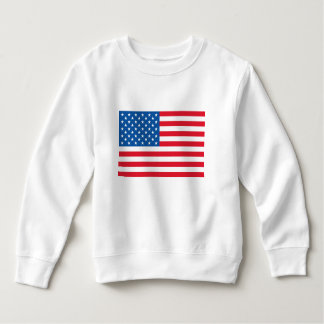 USA Flag stars and stripes Sweatshirt