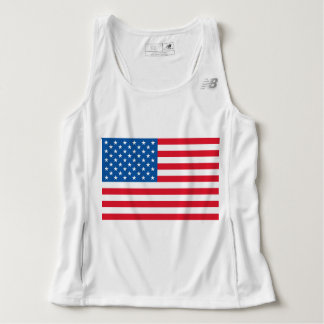 USA Flag stars and stripes Tank Top