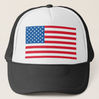 USA Flag stars and stripes Trucker Hat