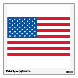USA Flag stars and stripes Wall Decal