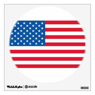 USA Flag stars and stripes Wall Sticker
