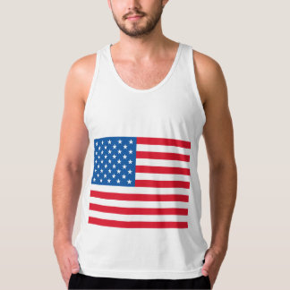 USA Flag Tank Top