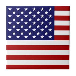 USA Flag Tile