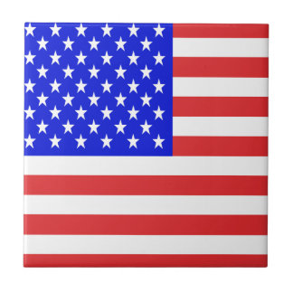 USA Flag Tile