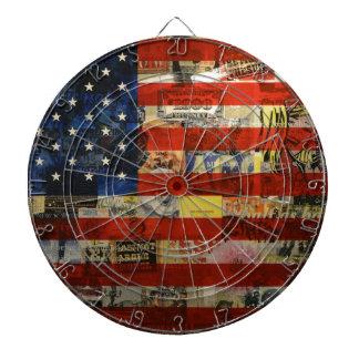 Usa Flag United States American Flag America Dartboard
