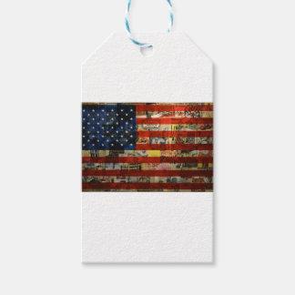 Usa Flag United States American Flag America Gift Tags