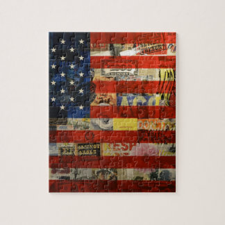 Usa Flag United States American Flag America Jigsaw Puzzle