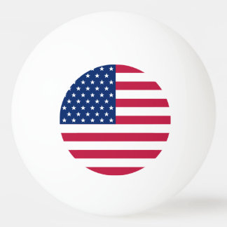 USA Flag US Patriotic Table Tennis Beer Ping Pong Ping Pong Ball