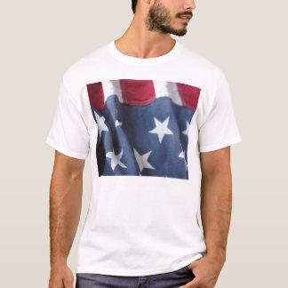 USA flag vertical men singlet T-Shirt