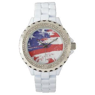 USA Flag Watch