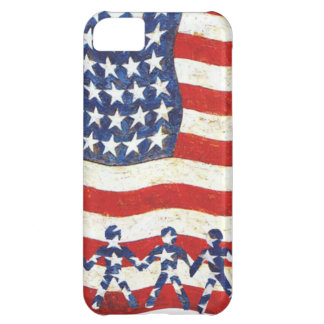USA FLAG - WE THE PEOPLE ARE THE STARS COVER FOR iPhone 5C