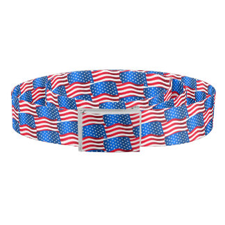 USA flags Belt