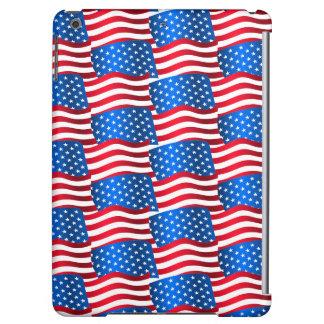 USA flags iPad Air Cover