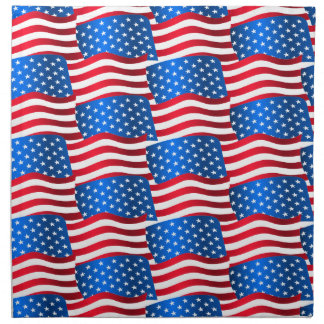 USA flags Napkin