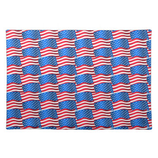 USA flags Placemat