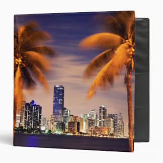 USA, Florida, Miami skyline at dusk Binder