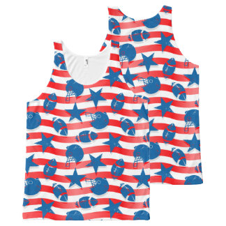 USA football All-Over-Print Tank Top