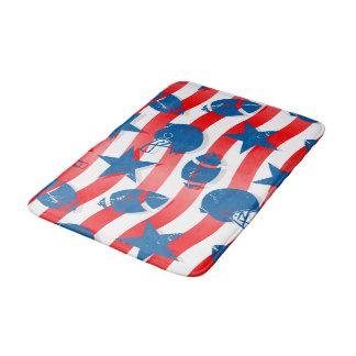 USA football Bathroom Mat