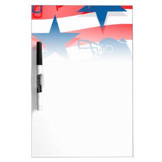 USA football Dry Erase Board
