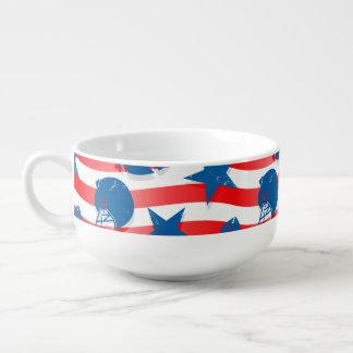 USA football Soup Mug