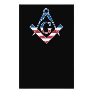 USA Freemasonic symbol Flyer
