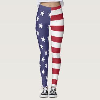 USA full bleed Leggings