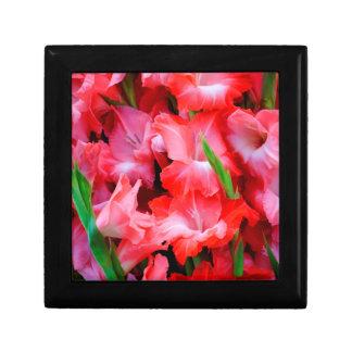 USA, Georgia, Savannah, Bouquet Of Gladiolus Trinket Box