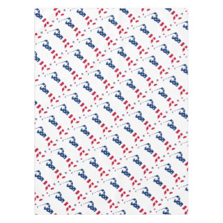 USA golf America flag golfer Tablecloth