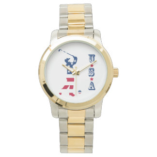 USA golf America flag golfer Watch