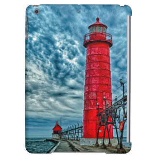 USA, Grand Haven, Michigan, lighthouse iPad Air Covers