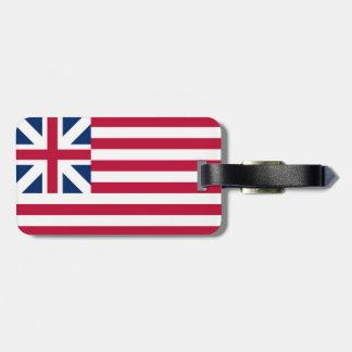 USA Grand Union and Venice Flag Luggage tag