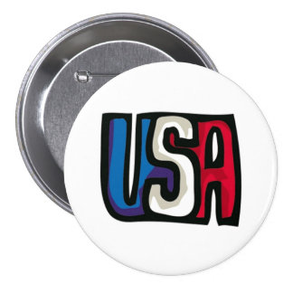 USA Graphic Button