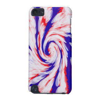 USA groovy patriotic abstract iPod Touch (5th Generation) Cover
