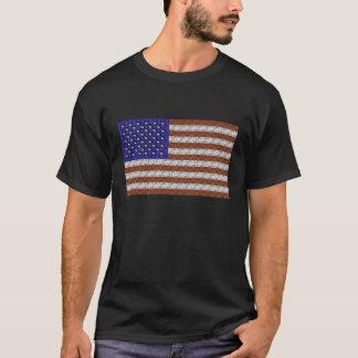 USA Guitar Flag T-Shirt