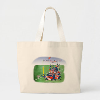 USA hail mary pass, tony fernandes Large Tote Bag