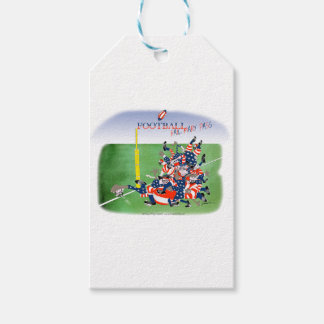 USA hail mary pass, tony fernandes Pack Of Gift Tags