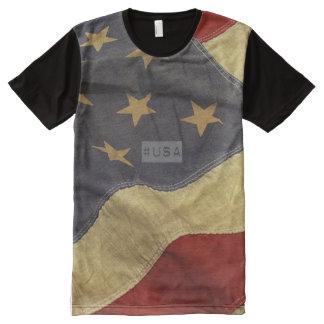 #USA hashtag tshirt