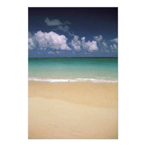 USA, Hawaii. Beach scene Photo Print