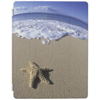 USA, Hawaii, Maui, Makena Beach, Starfish and iPad Cover
