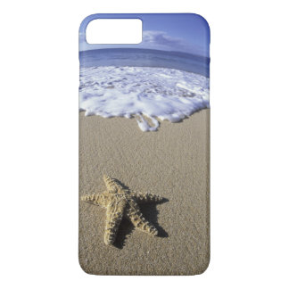 USA, Hawaii, Maui, Makena Beach, Starfish and iPhone 7 Plus Case