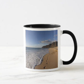 USA, Hawaii, Polihale Beach State Park. Beach Mug