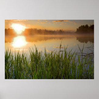 USA, Idaho, Winchester Lake State Park, Lapwai Poster