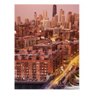 USA Illinois Chicago Chicago River 2 Postcard